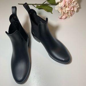 Sam Edelman Tinsley Chelsea Rain Boot Matte Black